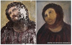 Image of Jesus - Hairy Monkey